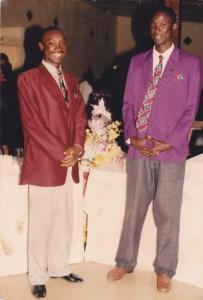 A gauche, Mamadou B. Tall